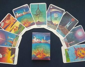 Cherish by Beth Seilonen Major Arcana Tarot Deck 22 cards Handcrafted