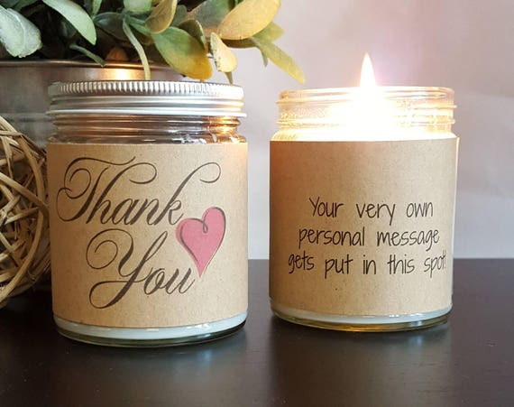 Thank you soy candle scented soy candle gift candle candle like this item negle Gallery