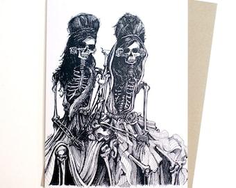 Muertas Bonitas Card