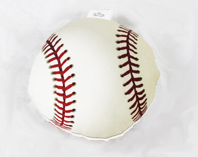 Baseball Vintage Style Softie Pillow