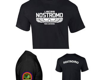 Nostromo Men's T-shirt for Alien's movie film