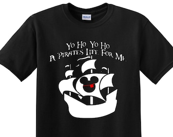 SALE!! Pirates Life For Me Shirts, Matching Vacation Shirts, Disney World, Disney Family Shirts, Disney Vacation, Cruise Pirate Night