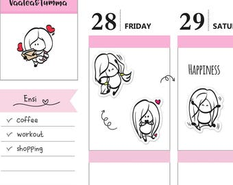 Happiness Planner Stickers, Ensi - S0170, I'm happy