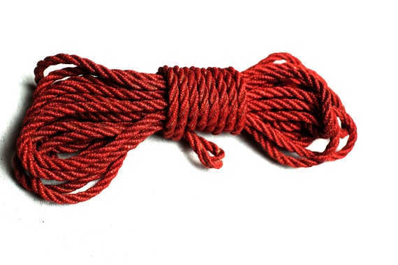Hemp Rope Red Bdsm