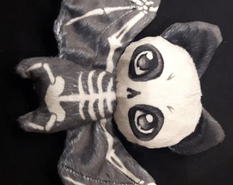 Skeleton Bat Plush