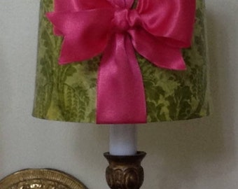 Fuschia lamp shade etsy chandelier lamp shade chandelier lampshade mini drum lamp shade sconce lamp shade mozeypictures Gallery