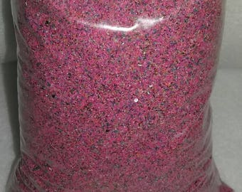 Sale !! 1 Pound Pink Rainbow Limited time, Unity Sand Ceremony Sand Art Weddings, Pink and blue rainbow sand
