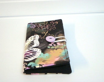 12 Card Loyalty Card Organizer, Business Card Holder , Credit Card Wallet Butterfly Dreams