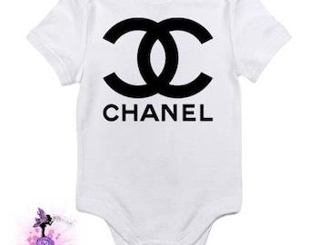 Customizable Designer Inspired Baby Onesie Babyshower Gift | First Birthday | Onesie Girls
