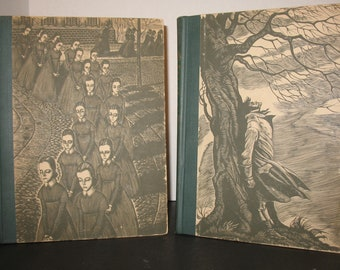 Wuthering Heights and Jane Eyre: Two Volume Set Charlotte and Emily Bronte