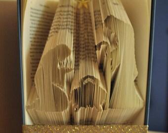 Nativity Book Folding Pattern
