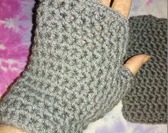 Quick Crochet Fingerless Gloves