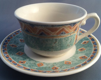Churchill Kabul Breakfast Cup and Saucer