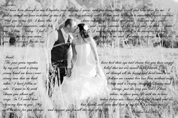 Gift For First Wedding Anniversary Couple: 1st Wedding Anniversary Gift For Couple 16x24
