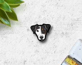 Custom Dog Pin | Custom Pet Portrait | Pet Art Illustration | Dog Portrait  Brooch| Cat Portrait | Dog Lover Gift | Pet Loss Gift | Cat Gift