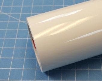 "White Oracal 651 12"" x 5' (5 feet) Roll * Sign Vinyl * Decal Vinyl"