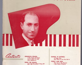 George Gershwin at the Piano - Near Mint - 1940 - 17 songs from Porgy and Bess, Shall We Dance, The Shocking Miss Pilgrim, Goldwyn Follies++