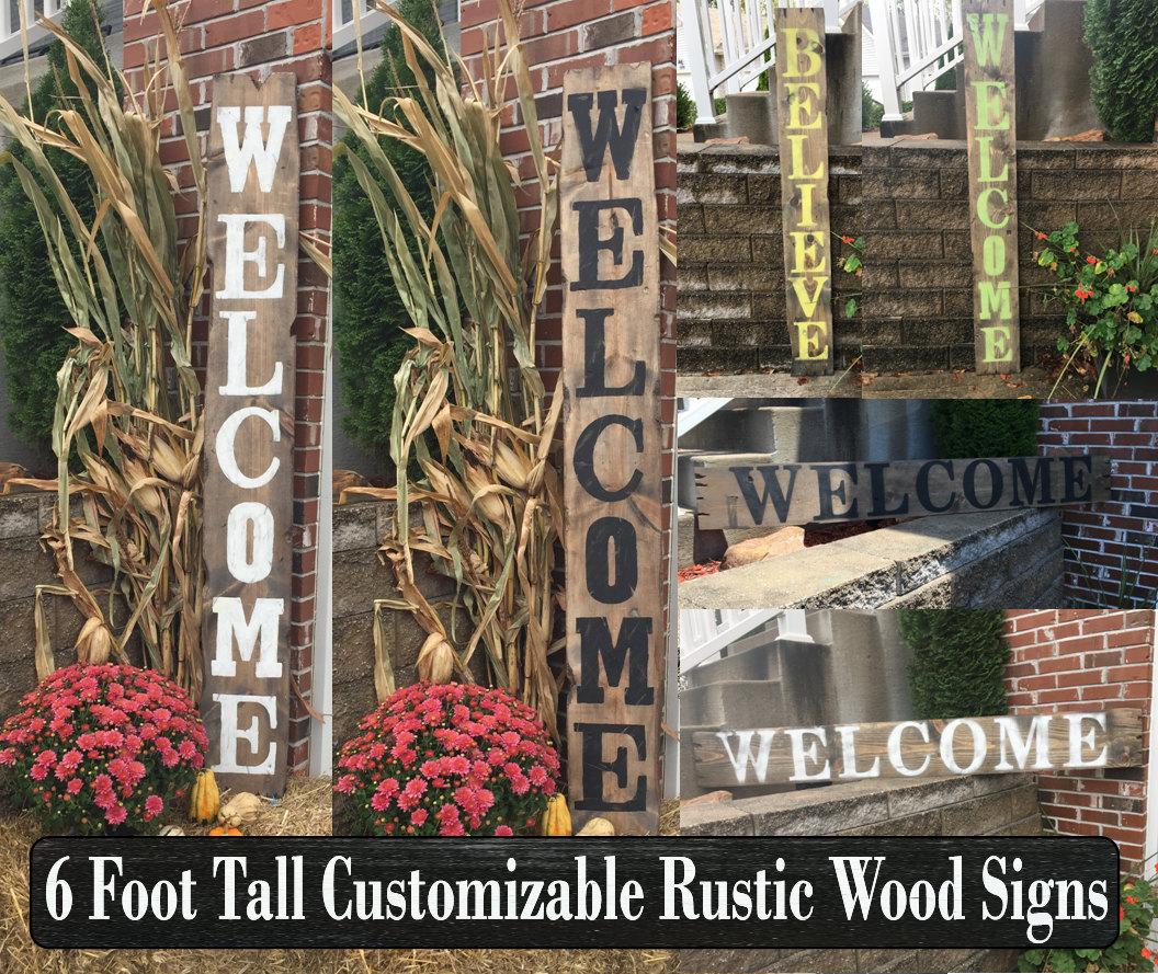 Spring Decor, Rustic Spring Decor, Outdoor Spring Decor, Spring Signs,  Rustic Spring Signs, Spring Decorations, Rustic Garden Signs