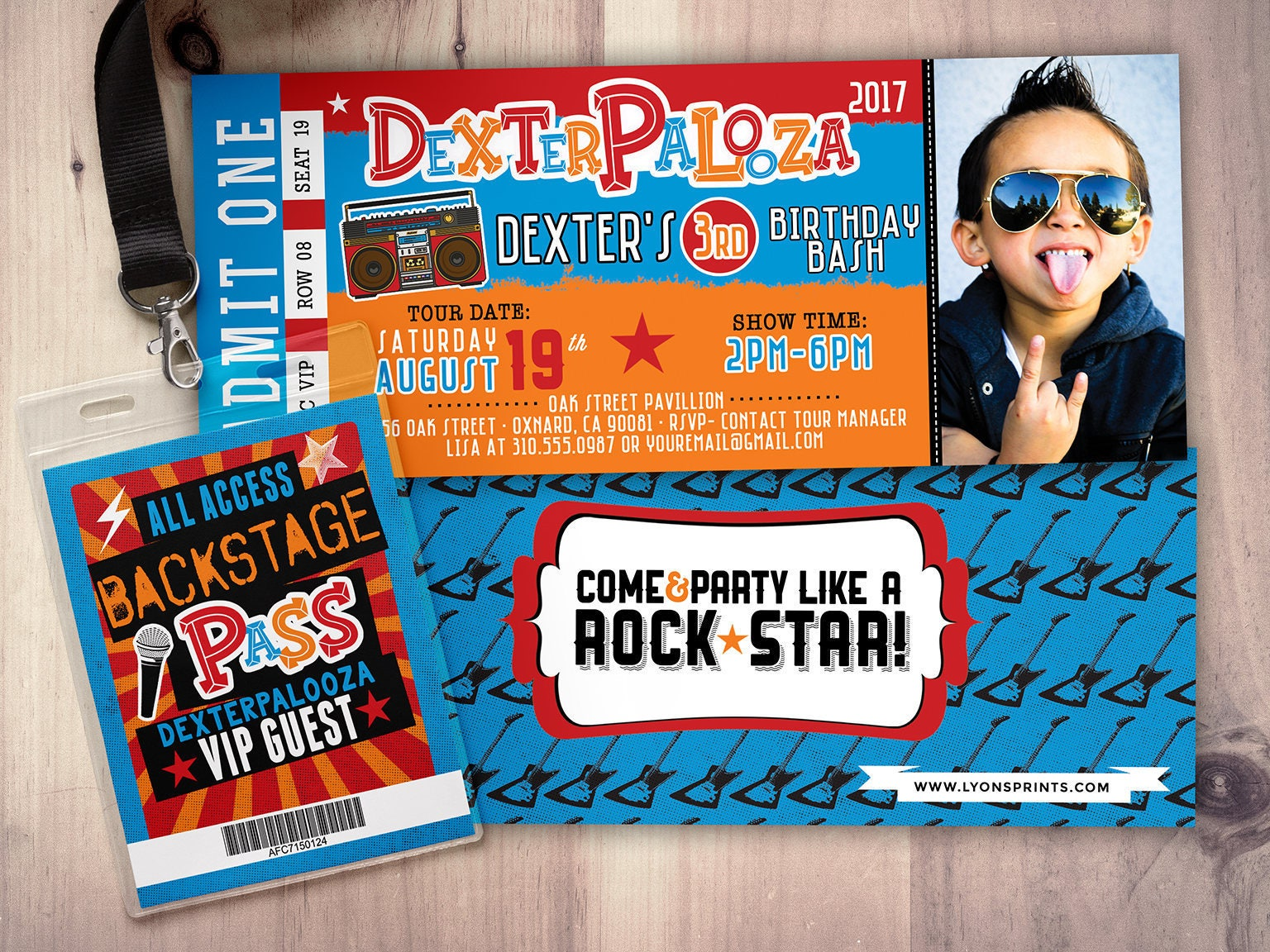 Rock star concert ticket birthday invitation girl birthday rock star concert ticket birthday invitation girl birthday invitation pop star birthday invitation music birthday invitation lollapalooza filmwisefo Images
