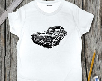 Lowrider Sketch T-Shirt | SketchTee
