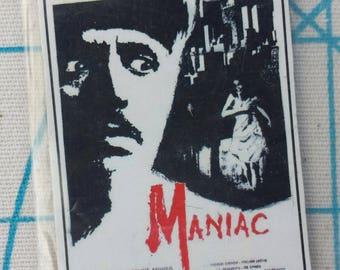lot of vintage horror movie poster magnet maniac the incredible melting man one of a kind hand made