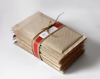 ON SALE Extra Large 15 x 19.5 inches- Brown Kraft Bubble Mailers-    Set of 10  |Shipping Supplies,  Padded Envelopes,  Packaging,  Biodegra