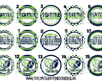 Seattle Seahawks Inspired - Retractable ID Badge Holder