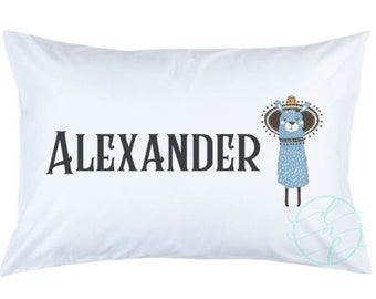 Personalized Custom Llama Pillowcase