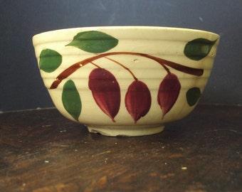 Watt Pottery  #5 Teardrop or American Red Bud pattern