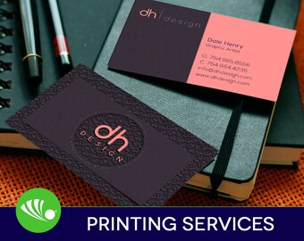 250 Business Card Printing - Custom - 16pt - Matte/Dull