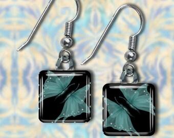 Turquoise Butterfly Earrings(ETur7.1)