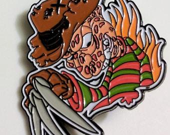 Freddy Krueger Enamel Lapel Pin
