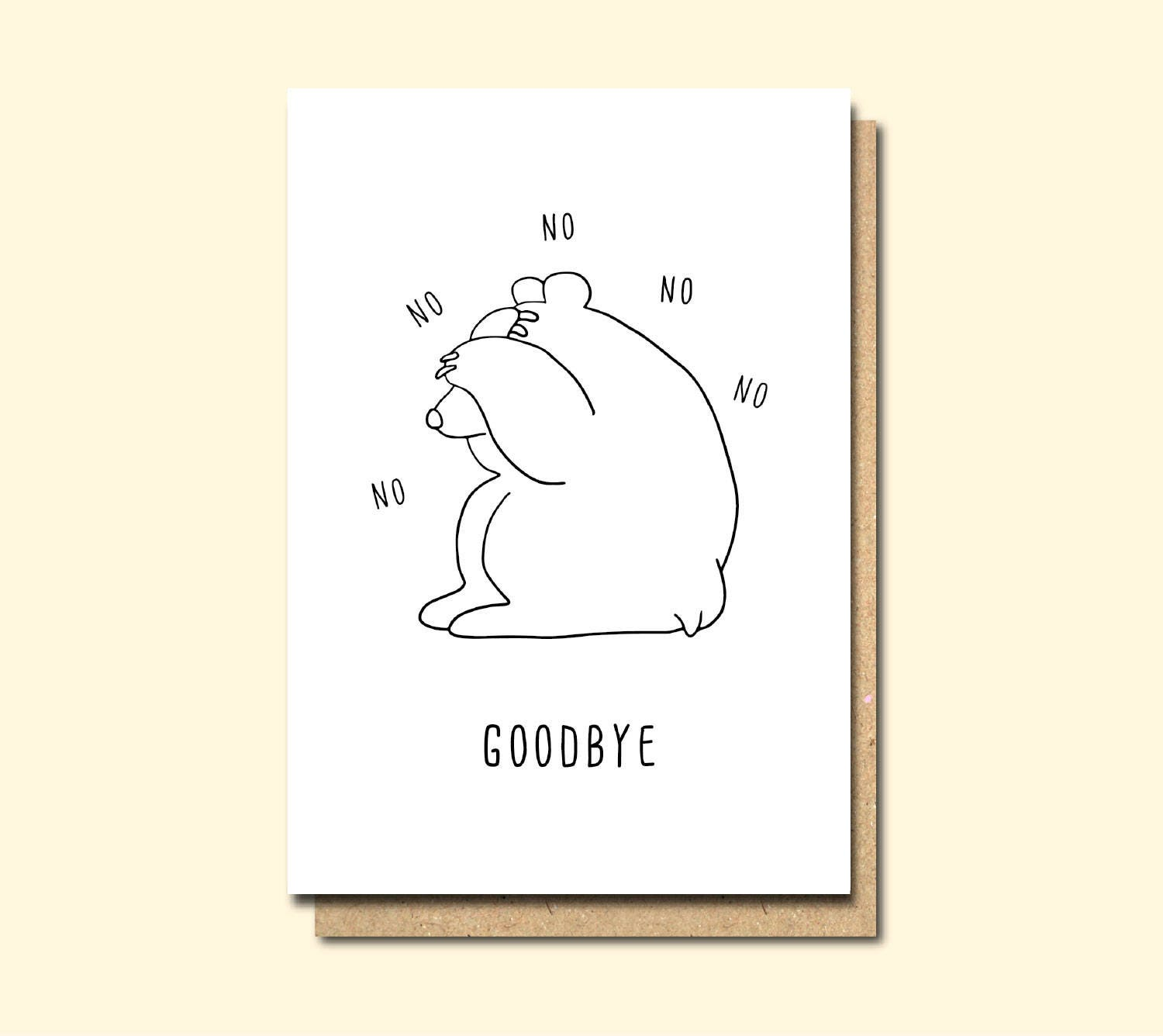 Funny Leaving card Retirement card moving away card Good