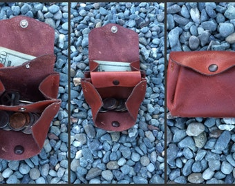 Custom Full Grain Leather Pouch (500+ Configurations!)