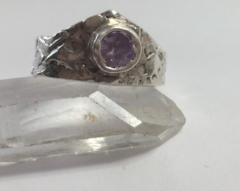 999 Fine Silver Crown Ring