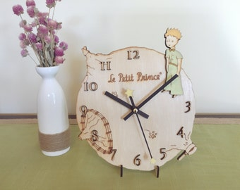 The Little Prince Desk / Wall Clock / Wood clock