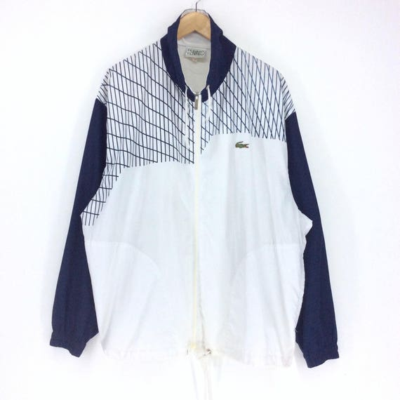Vintage Lacoste Windbreaker / Chemise Lacoste/ Lacoste Club / Lacoste Sport Patches Logo Rap Tees Hip Hop Swag PoMKy1