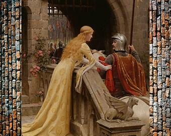 Godsped Vintage Victorian Art, Victorian Painting Reproduction, Art,  Vintage Art, Giclee Art Print, fine Art Reproduction