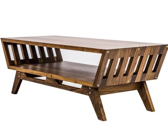 "Coffee Tables, Midcentury Modern, Sofa Table, Coffee Table Modern, Brass coffee table, Modern Coffee Table, Modern console table,""The April"""