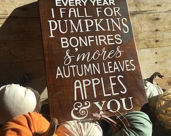 Fall Farmhouse Decor, Thanksgiving sign, Fall wood sign, Autumn Decor, Hay ride, Autumn Leaves, Fall Pumpkin Sign, Fall sign