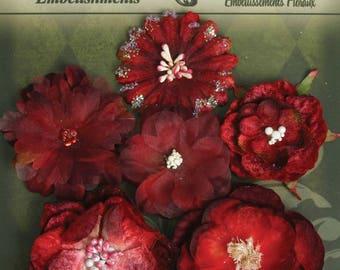 Petaloo Botanica Collection Deep Red   6Pkg.