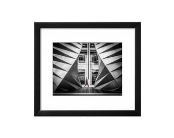 Walking On By, Art, Black & White Print, Wall Art, Photography