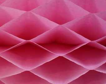 6-pack Dusty Rose Honeycomb Paper Popup Craft Pad (7 inches X 9 inches each)