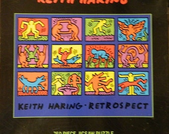 "Keith Haring ""Retrospect"" puzzle"