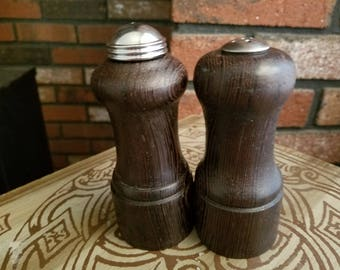 Custom made Exotic wood Salt & Pepper Shakers