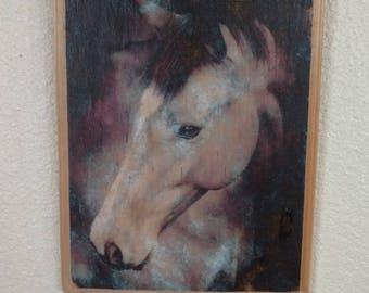Horse Head Decoupage Picture