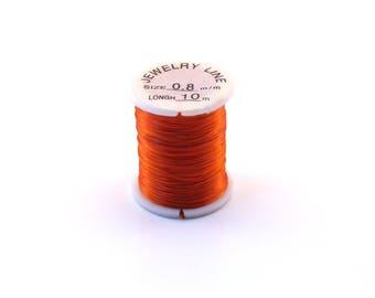 orange elastic 1 coil 10 M