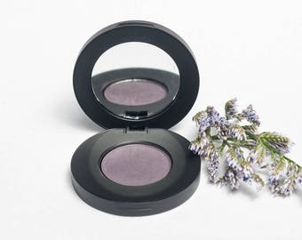 Violet Verbena Matte Pressed Mineral Eyeshadow - Dark Purple Eye Shadow - Natural - Organic - Cruelty Free - Sensitive Skin Safe