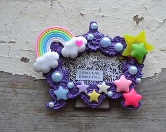 Kawaii Rainbow frame