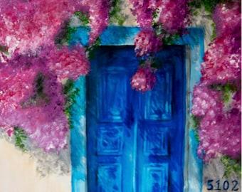 Blue Door Print